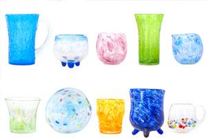 琉球ガラス体験アイテム