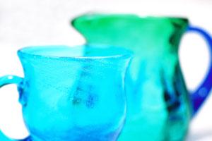 琉球ガラス生産